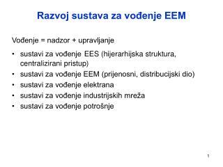 Razvoj sustava za vođenje EEM