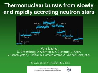 Thermonuclear bursts from slowly and rapidly accreting neutron stars