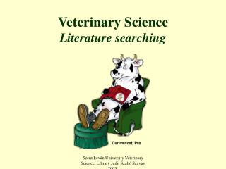 Veterinary Science Literature searching