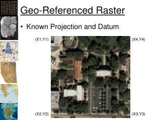 Geo-Referenced Raster