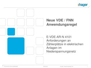 F orum  N etztechnik /  N etzbetrieb im VDE ( FNN )