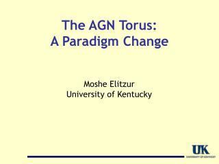 The AGN Torus: A Paradigm Change