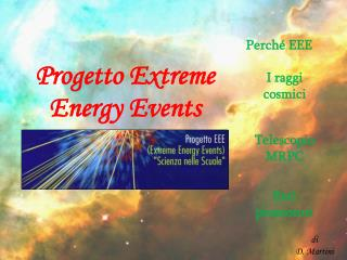 Progetto Extreme Energy Events