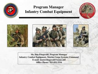 Program Manager Infantry Combat Equipment