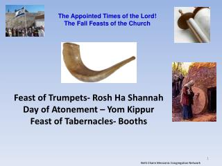 The Appointed Times of the Lord The Fall Feasts of the Church