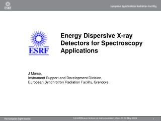 Energy Dispersive X-ray Detectors for Spectroscopy Applications