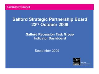 Salford Strategic Partnership Board