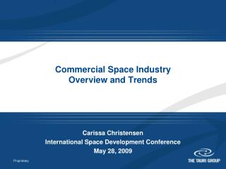 Commercial Space Industry Overview and Trends