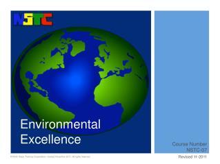Environmental Excellence
