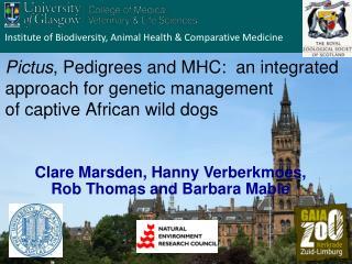 Institute of Biodiversity, Animal Health & Comparative Medicine