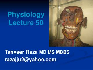 Physiology Lecture 50