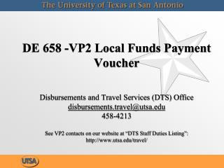 VP2 Local Funds Payment Voucher