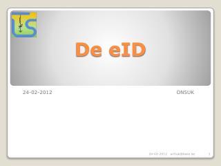 De  eID