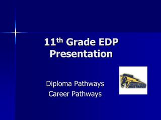 11 th  Grade EDP Presentation
