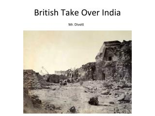 British Take Over India
