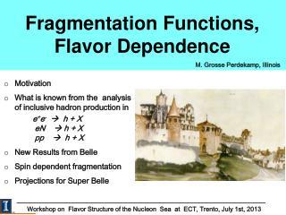 Fragmentation Functions, Flavor Dependence