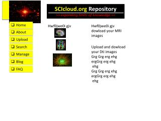 SCIcloud  Repository >> expanding limits of knowledge <<