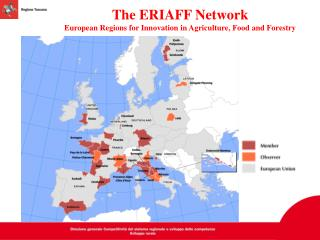 The ERIAFF Network European Regions for Innovation in Agriculture, Food and Forestry