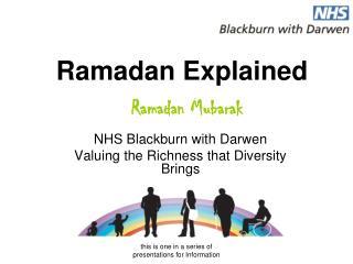 Ramadan Explained