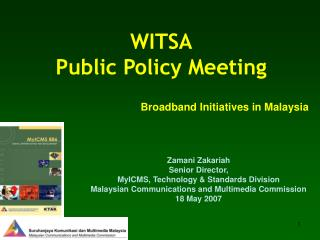 WITSA Public Policy Meeting