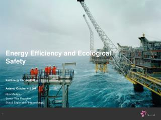 Energy Efficiency and Ecological Safety