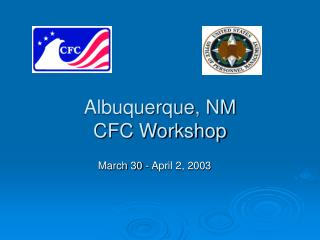 Albuquerque, NM CFC Workshop