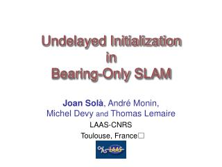 Undelayed Initialization in  Bearing-Only SLAM