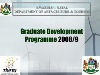 Graduate Development Programme  2008/9