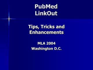 PubMed  LinkOut