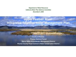 Upper Feather River Watershed