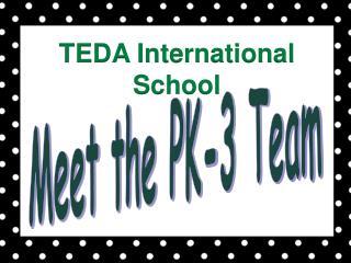 Meet the PK-3 Team