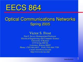 EECS 864