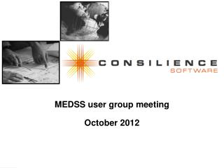 MEDSS user group meeting October 2012