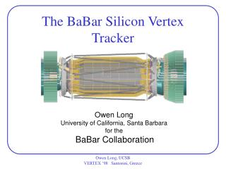 The BaBar Silicon Vertex Tracker