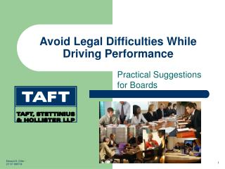 Avoid Legal Difficulties While Driving Performance