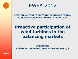 EMD International A/S  ( emd.dk ) Danish Wind Industry Association ( windpower )