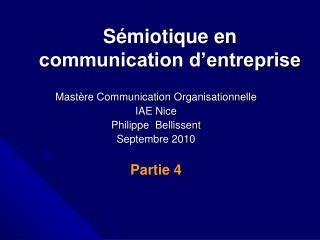 S miotique en communication d entreprise