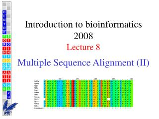 Multiple Sequence Alignment (II)