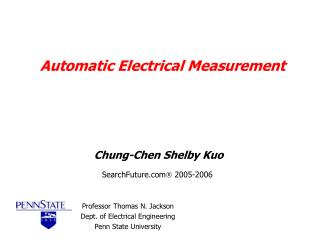 Automatic Electrical Measurement