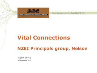 Vital Connections NZEI Principals group, Nelson
