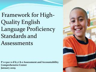 Framework for High-Quality English Language Proficiency Standards and Assessments