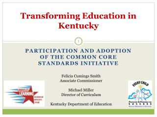 Transforming Education in Kentucky