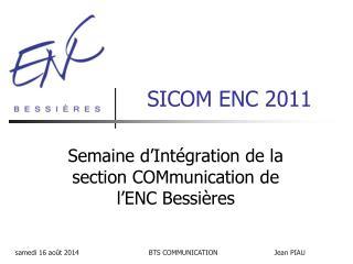 SICOM ENC 2011