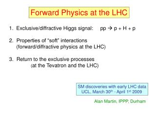 Forward Physics at the LHC