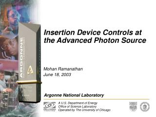 Insertion Device Controls at the Advanced Photon Source