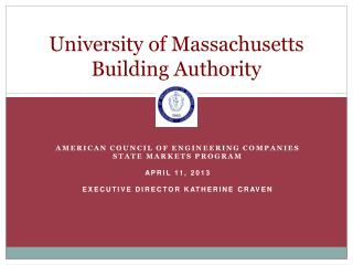 University of Massachusetts Building Authority