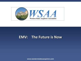 EMV:    The Future is Now