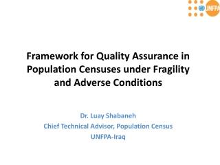 Quality Assurance Programs QA