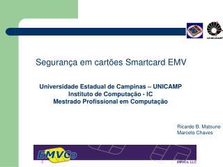 Segurança em cartões Smartcard EMV