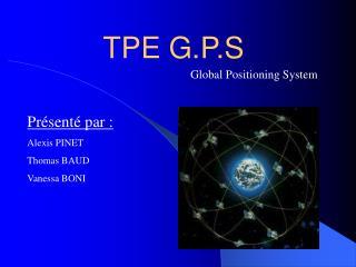 TPE G.P.S